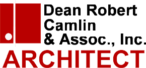 Dean Robert Camlin & Associates, Inc. Architect logo